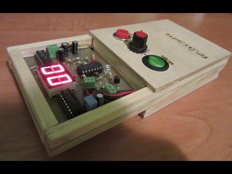 Reflexometer – Homemade Electronic Game (DIY)