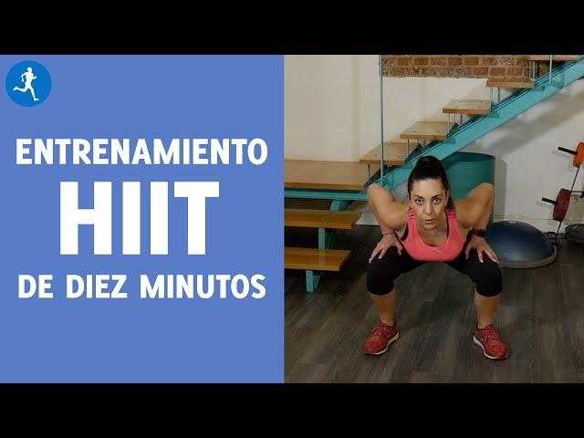 ENTRENAMIENTO HIIT EN 10 MINUTOS EN CASA, ¡TONIFICA TUS GLÚTEOS Y PIERNAS! | Vitónica