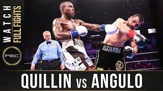 Quillin vs Angulo Full Fight: September 21, 2918 - PBC on FS1