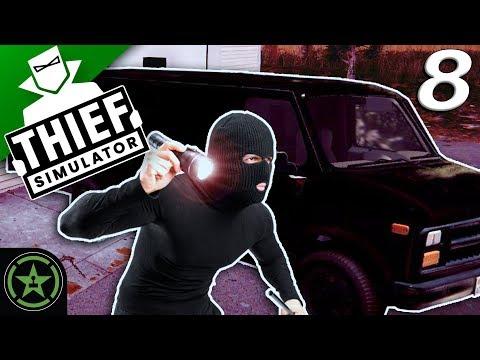 WE GOT A NEW VAN! - Thief Simulator (Part 8)   Let's Watch
