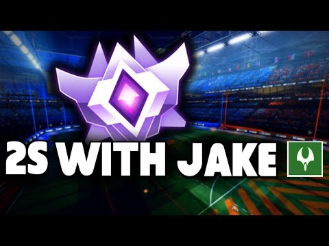Grand Champion 2s with Jake   Rocket League Gameplay