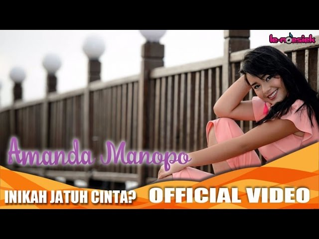 Amanda Manopo - Inikah Jatuh Cinta (Official Music Video)