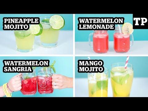 4 easy summer cocktails (and kid-friendly mocktails)