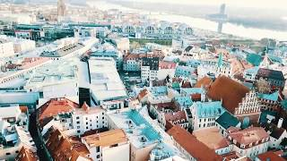 ► Riga - TimeLapse Video from DJI Mavic Pro