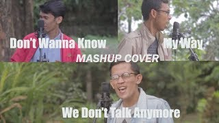 Don T Wanna Know Maroon 5 We Don T Talk Anymore My Way Mashup Cover