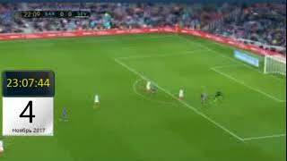 Чемпионат Испании 2017 18 Барселона 1 0 Севилья