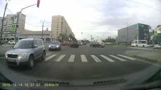 Смотреть онлайн Авария в Санкт-Петербурге, 2015.10.14