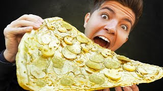 Eating Only Gold Food for 24 Hours Straight
