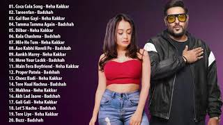BADSHAH & NEHA KAKKAR Top 20 Songs \\ Best Hindi Songs Jukebox - Bollywood Songs Playlist 2019