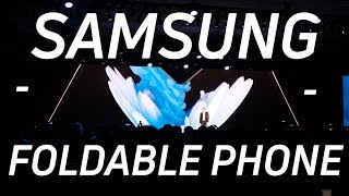 Samsung's Foldable Phone is Here!