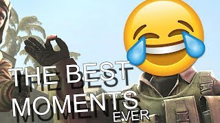 THE BEST CS:GO FUNNY MOMENTS OF ALL TIME