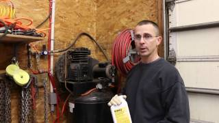 Air Compressor Oil Change--Extend the Life of your Air Compressor