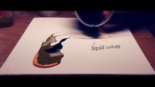 Liquid Colors - abstract painting Demo