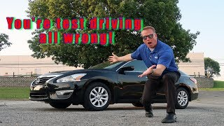How to test drive a used vehicle that's for sale and not get scammed.