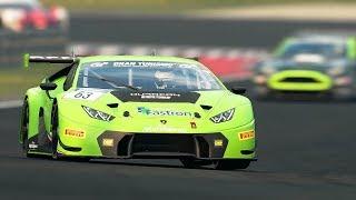 Gran Turismo Sport - LAMBORGHINI Huracán GT3 Replay | Dragon Trail - Seaside @ 4K (60ᶠᵖˢ) ✔