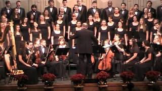 """Conrad Kocher, arr. John Leavitt - """"As With Gladness Men of Old"""" from Festival of Lessons and Carols"""