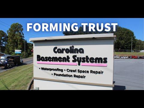 Carolina Basement Systems: Does Trust Matter