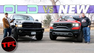 Old vs New: I Finally Bought an Old Truck and Immediately Compared It to a New One! by The Fast Lane Truck