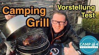 Camping Grill Vorstellung und Test: Cobb Premier+ (Gas / Holzkohle), mobiler Reisegrill