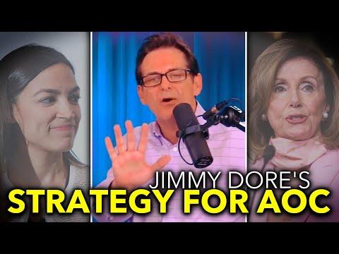 Jimmy Dore Pressures Ocasio-Cortez to Play Hardball with Nancy Pelosi