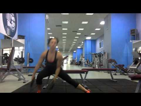 Side Kick and Shoulder Press