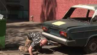 Брошенные автомобили убирают с улиц Реутова   14.05.13