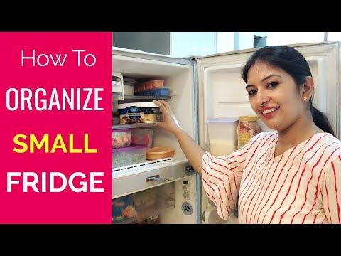 How To Organise SMALL Fridge | Fridge Tour | CookWithNisha