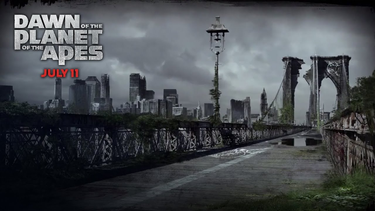 Dawn of the Planet of the Apes - New York Deterioration