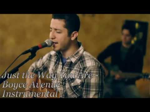 Just the Way You Are - Boyce Avenue instrumental