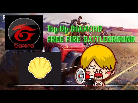 Cara Top Up DIAMOND Free Fire Dengan SHELL GARENA