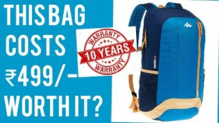 QUECHUA HIKING BAGPACK 20L NH100 10yearswarrantybWorth The Money Ep-01| is Quechua worth the money