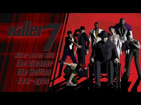 killer7 - Killer moves with the Cleaner, Hellion, and Four-eyes (Steam) thumbnail