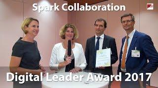"""Digital Leader Award 2017 - Sieger in der Kategorie """"Spark Collaboration"""""""