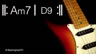 Funky Guitar Backing Track in Am / A Dorian