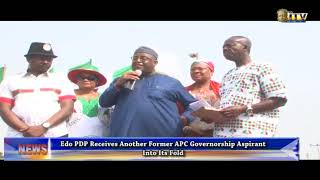Edo PDP receives another former APC guber aspirant