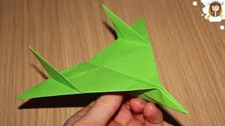 Avião de papel - (Voa muito / Testado)