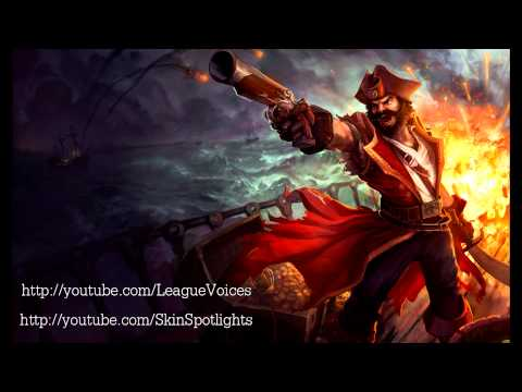 Dennis C. Johnson as the original Gangplank in League of Legends from Riot Games.