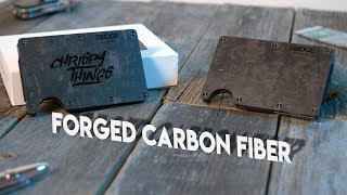 The Ridge Wallet: Forged Carbon Fiber! Why this is still the BEST MINIMALIST EDC wallet!