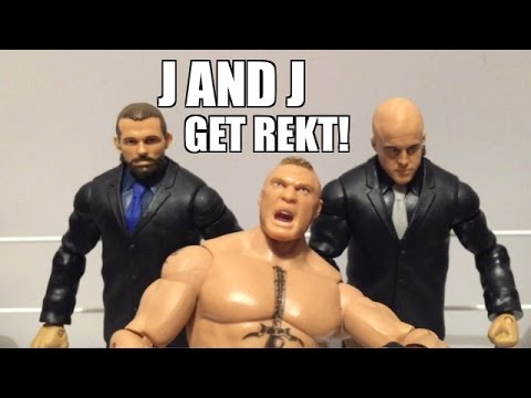 WWE ACTION INSIDER: J and J Security BATTLEPACK Series 37 Wrestling Figure Review!