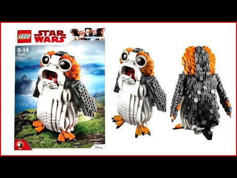 LEGO STAR WARS 75230 Porg Construction Toy - UNBOXING