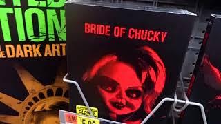 NEW 2017 Walmart GLOW IN THE DARK Horror Movie DVD Covers