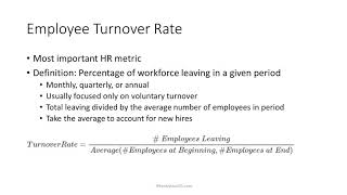 2 Minute Tutorial: How To Calculate Employee Turnover Rate