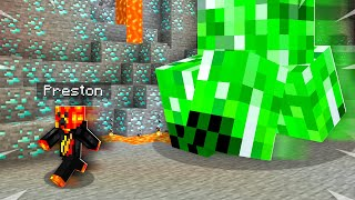 How to PRANK Preston with GIANT Creepers!