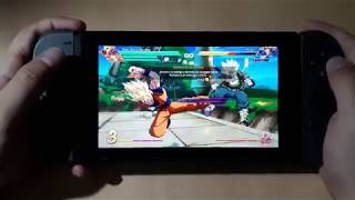 Dragon Ball FighterZ Nintendo Switch | Portable Gameplay | Off-screen