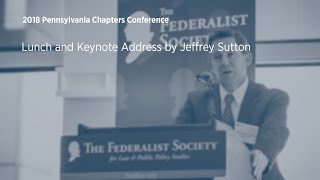 Click to play: Lunch and Keynote Address by Jeffrey Sutton