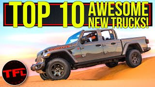 These Are The Top 10 Coolest Trucks From The 2020 Chicago Auto Show!