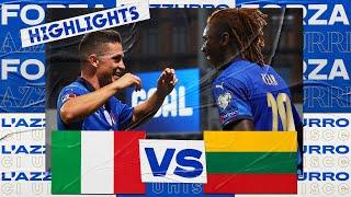 Italia 5-0 Lituania Pekan 6