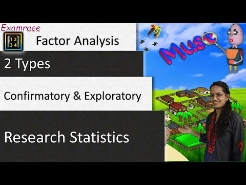 Factor Analysis: 2 Types – Confirmatory & Exploratory (Research and Statistics)