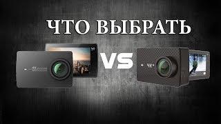 YI 4K+ plus или Xiaomi YI 4K. Какую камеру выбрать блогеру?