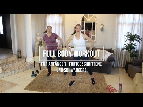 Full Body Workout für Anfänger, Fortgeschrittene und Schwangere   Schwangerschafts Workout